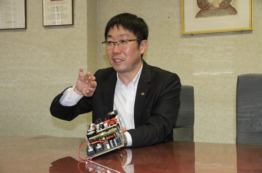 Shoichiro Kurushima of Toshiba Electronic Devices and Storage