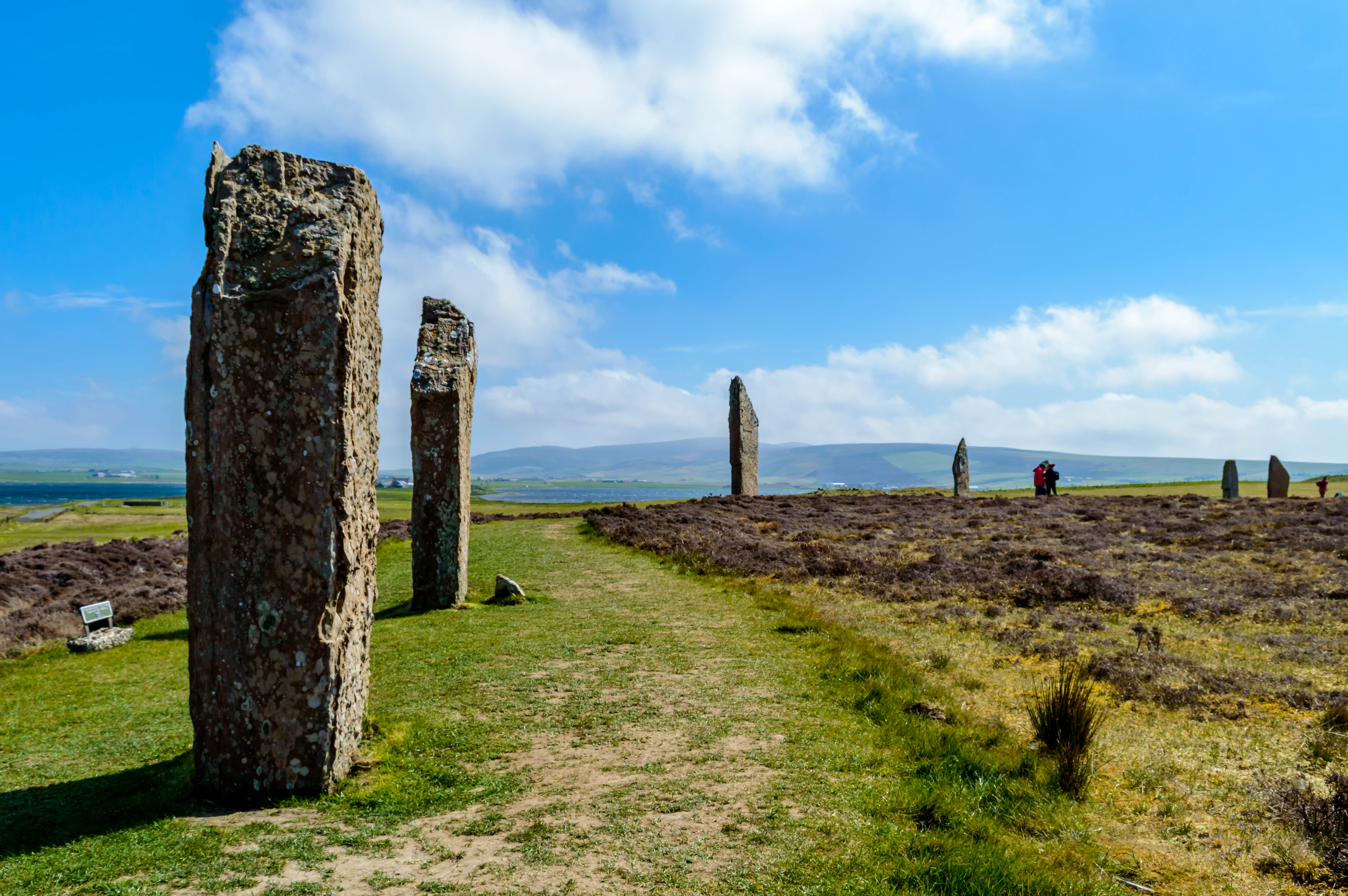 Neolithic stones of the Orkney's