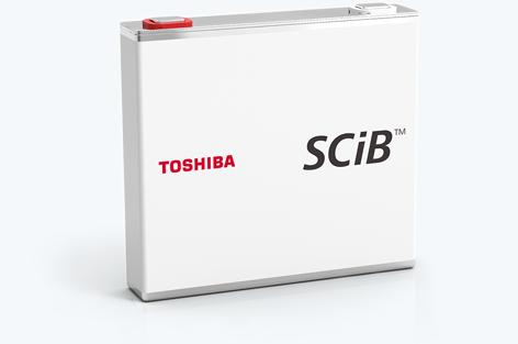 東芝の二次電池 SCiB™